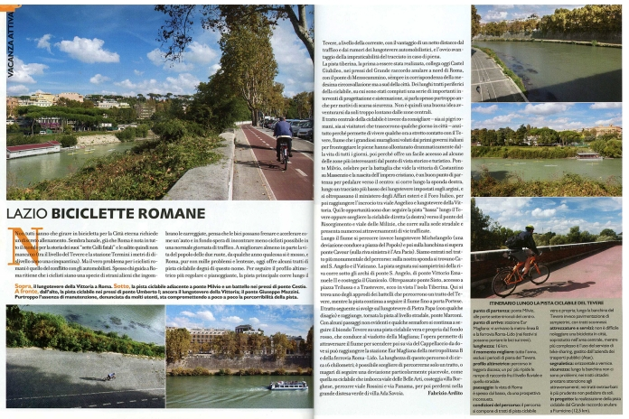 """November 2010 - """"Biciclette romane"""", assignment for Touring"""