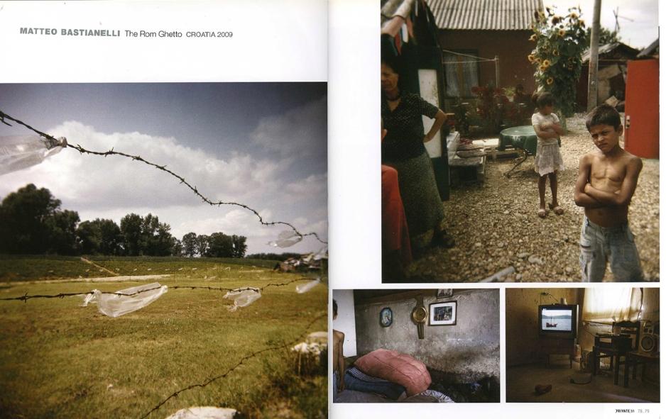 "Winter 2010/2011 - ""The Rom Ghetto"" published in Private magazine"