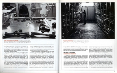 """May 2011 - """"The Bosnian Identity"""" published in L'Europeo magazine"""