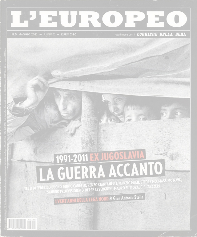 "May 2011 - ""The Bosnian Identity"" published in L'Europeo magazine"