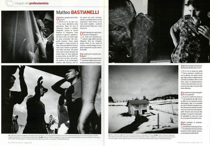 """May 2011 - """"The Bosnian Identity"""" published in Photo Professional"""