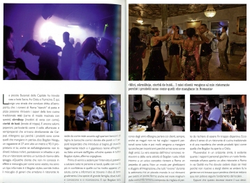 """September 2011 - """"Romani d'Europa"""" published in various magazines"""