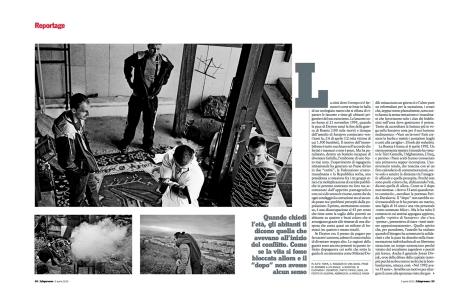 "April 2012 - ""The Bosnian Identity"" published in L'Espresso magazine"