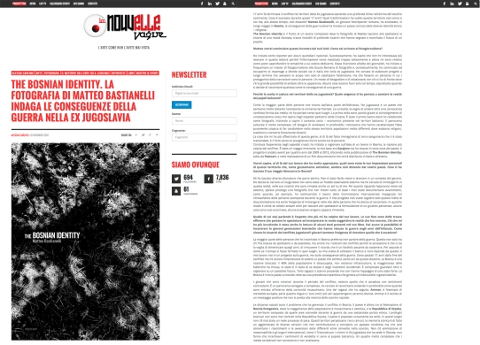 """January 2013 - The book """"The Bosnian Identity"""" reviewed by La Nouvelle Vague"""