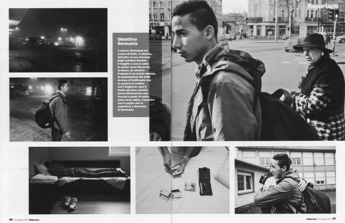 """May 2015 - """"Souls of Syrians"""" published in L'Espresso magazine"""