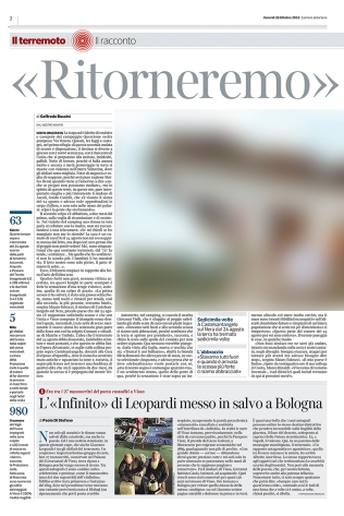 """October 2016- One of my pictures from the series """"The shock after"""" featured on """"Il Corriere della Sera"""""""