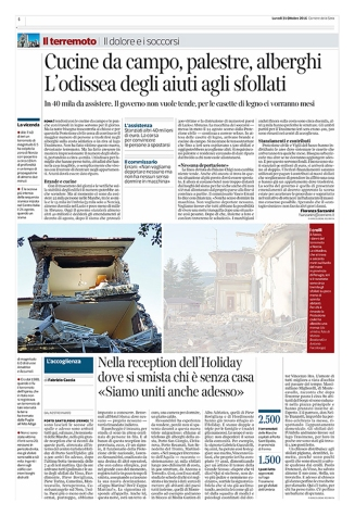 "October 2016- One of my pictures from the series ""The shock after"" published in ""Il Corriere della Sera"""