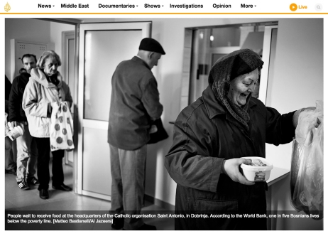 """April 2017- My long-term project """"Phantom country syndrome"""" published in Al Jazeera."""
