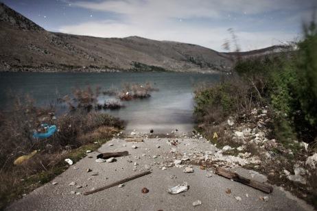 A road completely flooded. Popovo Polje, Bosnia and Herzegovina 2010. © Matteo Bastianelli