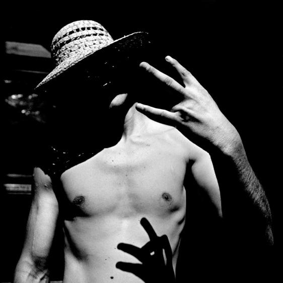 Nihad Bostandja, member of a small gang in Sarajevo, on holiday in Croatia. Gradac, Croatia, 2010. © Matteo Bastianelli