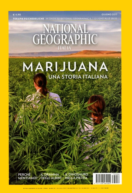 """June 2017- My long-term project """"Green gold"""" published as cover story of June's issue of National Geographic Italy."""