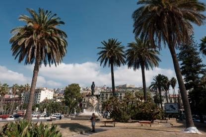 A view of Piazza Vittoria. Naples, Italy 2017. © Matteo Bastianelli